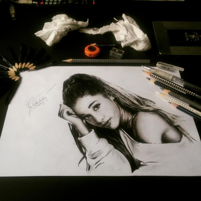 Ariana Grande by byTattooteddy